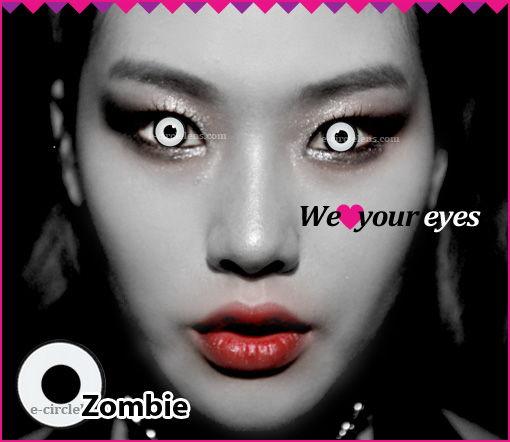 Zombie Contacts at e-circlelens.com