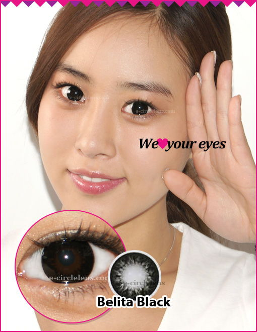 Belita Black Contacts at wwwe-circlelens.com