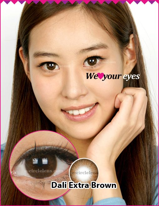 dark brown circle lenses