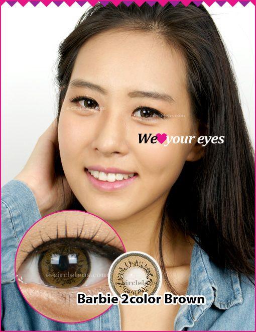 Barbie 2 Brown Contacts (DB21) at www.e-circlelens.com