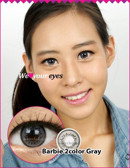 Barbie 2 Gray Contacts (DB21) at www.e-circlelens.com