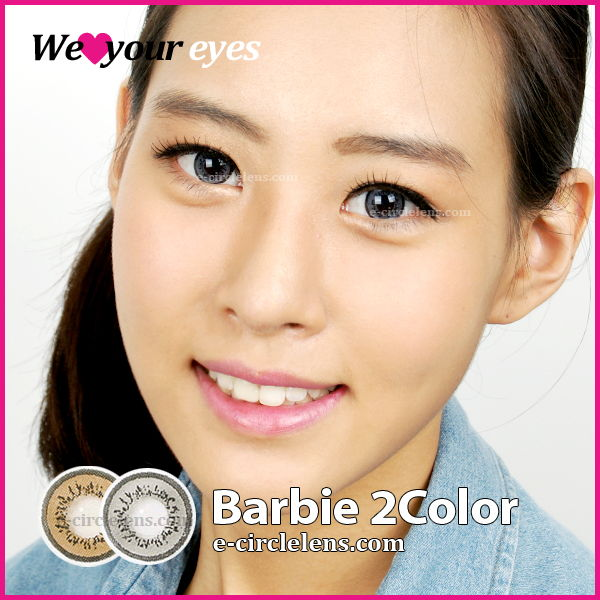 Barbie 2 Gray Contacts at www.e-circlelens.com