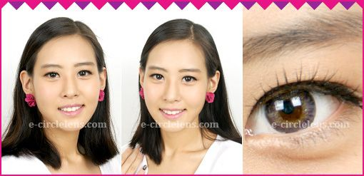 Neo 3 Color Violet Contacts  at e-circlelens.com