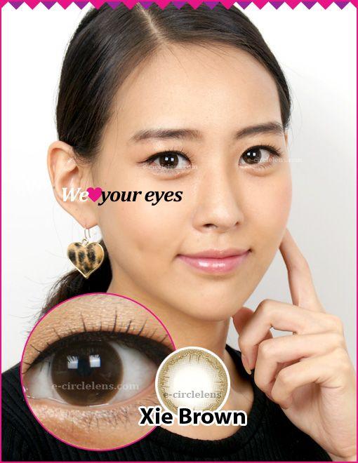 Xie Brown Contacts at e-circlelens.com