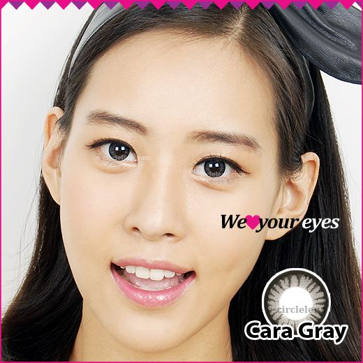 Cara Gray Contacts at e-circlelens.com