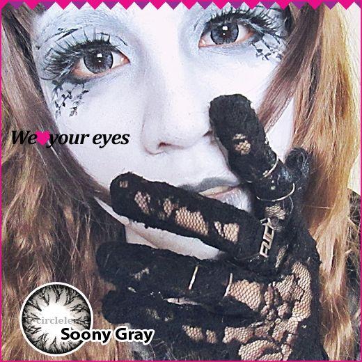 Soony Gray Contacts at e-circlelens.com