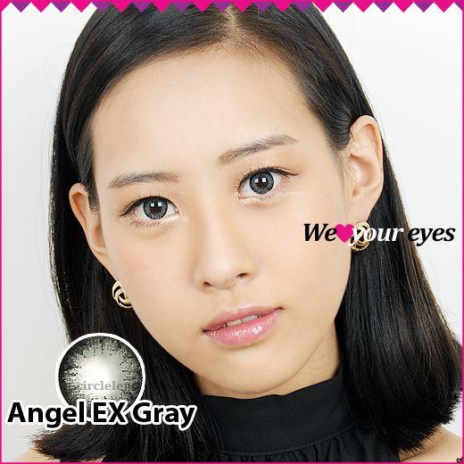 Angel EX Gray Contacts at e-circlelens.com
