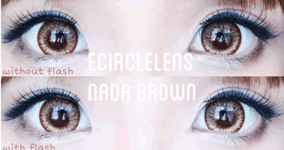 Nada Brown Contacts at www.e-circlelens.com