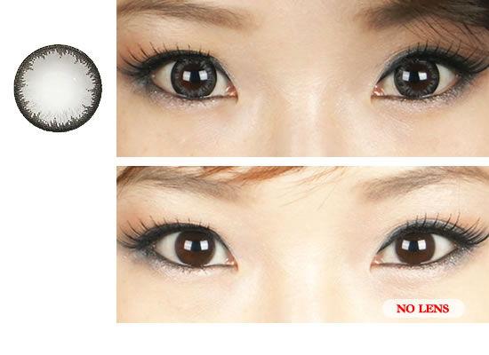 Luna Gray Contacts at e-circlelens.com